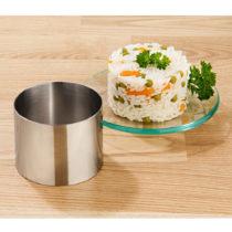 Blancheporte Forma na pokrmy/dezery 8-dielna (6 kruhov, 1 posunovač, 1 dno) kruh