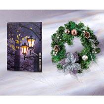 Blancheporte Vianočný veniec, pastelová pastelová