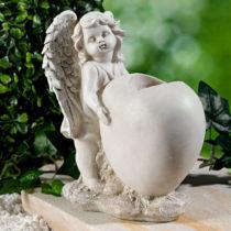 Blancheporte Váza na hrob s anjelom