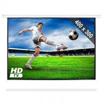 FrontStage Premietacie plátno s motorovým pohonom, HDTV, 400 x 300 cm