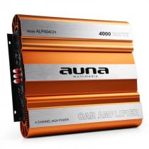 Auna W1-AMP404CH, 4-kanálový zosilňovač do auta, 4000 W