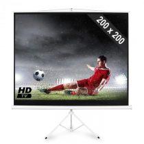 FrontStage PSDB-112, plátno so statívom s rozmermi 200 x 200 cm