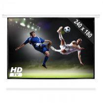 FrontStage PSAC-120, automaticky rolovateľné plátno pre domáce kino, projektor