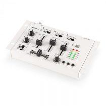Resident DJ DJ 3-/2-kanálový mixážny pult Auna TMX-2211, biely