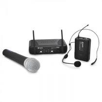 Bezdrôtový mikrofónový set Skytec STWM722, UHF ručný mikrofó