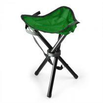 DURAMAXX prenosná kempovacia stolička, rybárska, 500 g, zeleno-čierna