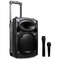 Ibiza Port10VHF-N, mobilný PA-reproduktor, batéria, kolieska, bluetooth, USB, SD