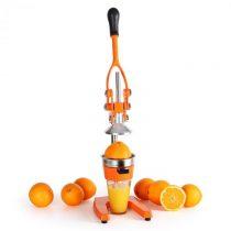 OneConcept Klarstein OJ1-EcoJuicer XXL, odšťavovací lis, oranžový