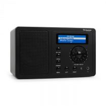 Auna IR-130 internetové rádio, WLAN, čierne, streaming