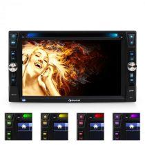 Moniceiver Auna MVD-481, DVD, CD, MP3, USB, SD, HD, 6,2''
