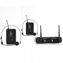 Malone UHF-250 Duo2, bezdrôtový mikrofónový set, 2 kanály