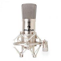 Auna CM001S štúdiový mikrofón, kondenzátorový, spev, nástroj