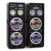 Skytec KA-28 aktívny karaoke PA reproduktorový set, USB, SD