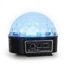 Beamz Mini Star Ball, RGBWA, LED, 6 x 3 W, hudobný mod