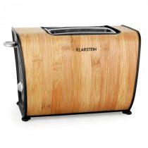 Klarstein TK21-Bamboo, hriankovač, 870 W, bambus