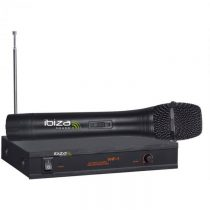 Ibiza VHF-1A, wireless mikrofónový systém, veľký frekvenčný rozsah, 90dB
