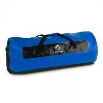 Yukatana Quintoni 120, čierna/modrá, lodný vak, športová taška, 120 litrov, nepremokavá