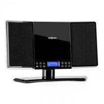OneConcept V14, stereo systém, FM/AM, CD, MP3, AUX, čierny