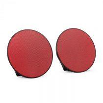 OneConcept Dynasphere, prenosné bluetooth reproduktory, AUX, červené