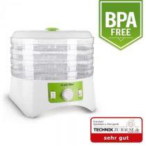 Klarstein TK35-Appleberry, 400 W, sušička, dehydrátor, 4 poschodia, bielo-zelená