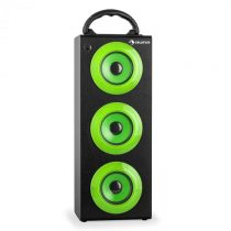 Auna Beachboy XXL, bluetooth reproduktor, zelený, USB, SD, AUX, FM