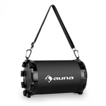 Auna Dr. Black Boom 2.1- bluetooth reproduktor, USB, SD, AUX, akumulátor