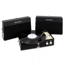 Ricatech RT80, vintage gramofón, čierny, AUX