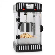 Klarstein SHU-Volcano-Black, 300 W, stroj na popcorn, miešadlo, nerez
