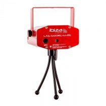 Ibiza Firefly Showlaser svetelný efekt, mini laser, červený