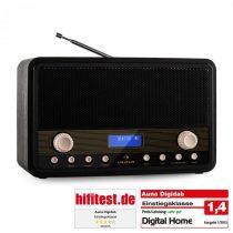 Auna Digidab, retro DAB/DAB+ digitálne rádio, prenosné, FM/AM, PPL, budík
