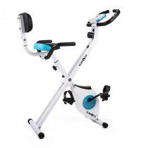 Klarfit Azura Pro, domáci cyklotrenažér, chrbtová opierka, bocné držadlá, sklápací, 100 kg