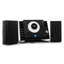 OneConcept Vertical 70, stereo systém, CD, USB, MP3, AUX, čierny