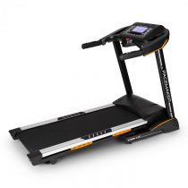 Capital Sports Pacemaker X30, bežecký pás, profi domáci tréner, 3 kone, 22 km/h, merač pulzu, čierny