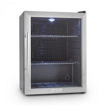 Klarstein Beersafe XL, chladnička s objemom 65 litrov, energet. trieda B, sklenené dvere, nerezová o...