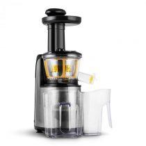Klarstein Fruitpresso Nero II, pomalý odšťavovač, 150 W, 80 ot./min., nerezová oceľ