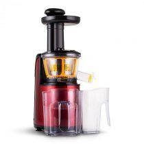 Klarstein Fruitpresso Rossa II Slow Juicer, odšťavovač, 150 W, 80 ot./h, metalicky červená