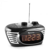 Auna RCR 56 BK, čierny, retro rádiobudík s AUX, FM a dual alarmom