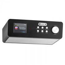 """Auna KR-200, čierne, kuchynské rádio, zabudovateľné, 2,4"""" farebný displej, WiFi, DAB+"""