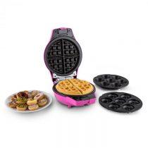 OneConcept Trinity Mini, čierne, 1000 W, zariadenie pre cake pop, šišky, vafle