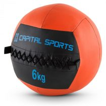 Capital Sports Epitomer Wall Ball Set, oranžový, 6 kg, koženka, 5 kusov