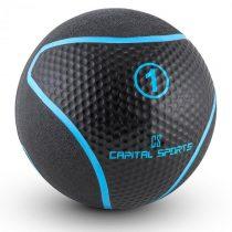 Capital Sports Medba 1, čierny, medicinbal 1kg guma