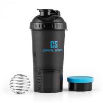 Capital Sports Shakster, čierny, 600 ml, šejker pre proteínový nápoj