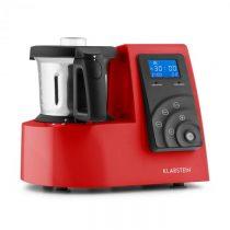 Klarstein Kitchen Hero 9-in-1, červený, 2 l, 600/1300 W, tepelný kuchynský robot