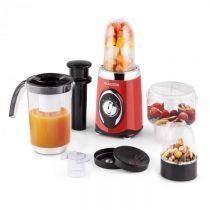 Klarstein Fruizooka, 220 W, červený, mixér na prípravu smoothie, multifunkčné zariadenie 4 v 1
