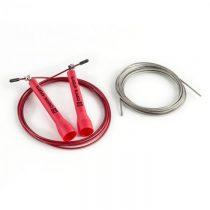 Capital Sports Exerci Pack, 2,75m, červené, švihadlo s náhradným lankom, sada švihadlo + náhradné la...