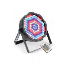 Beamz FlatPAR, 186 x 10 mm LED, PAR reflektor, RGBW, LED, DMX, IR, diaľkový ovládač