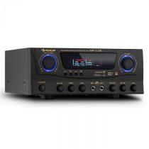 Auna Amp-2, HiFi karaoke zosilňovač, 100 W max., USB, SD, MP3