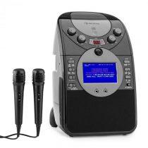 Auna ScreenStar, čierny, karaoke systém, kamera, CD, USB, SD, MP3, vrátane 2 mikrofónov