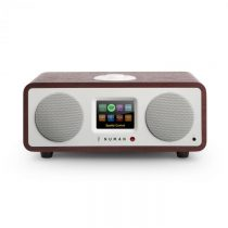 Numan One, 20W, mahagón, 2.1 internetové rádio s DAB/DAB+, bluetooth, pripojenie k Spotify