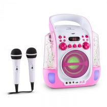 Auna Kara Liquida, karaoke systém, CD, USB , MP3, fontána, LED, 2 x mikrofón, prenosný